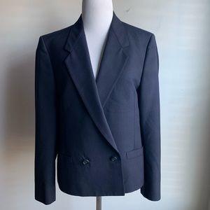 Vintage Burberry's Navy Jacket Blazer
